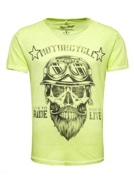 KEY LARGO Herren T-Shirt MT BEARDED BIKER MT BEARDED BIKER