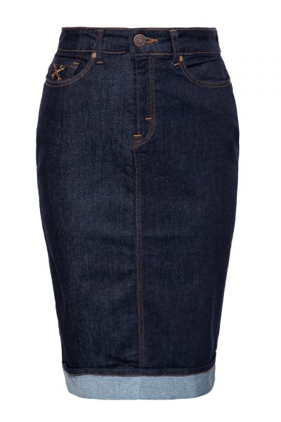 Jeansrock im 5-Pocket Design