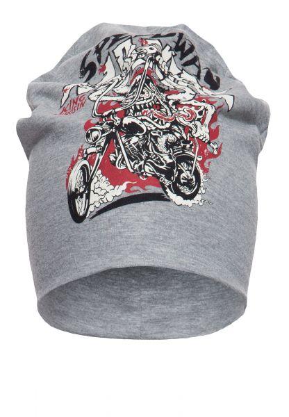 Stoffmütze mit Print in der Front »Speedway Maniac«