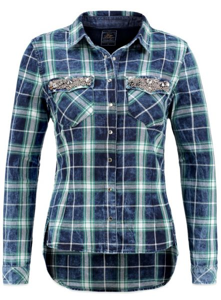 KEY LARGO Damen Bluse DB CLAIRE button Farbe  Größe