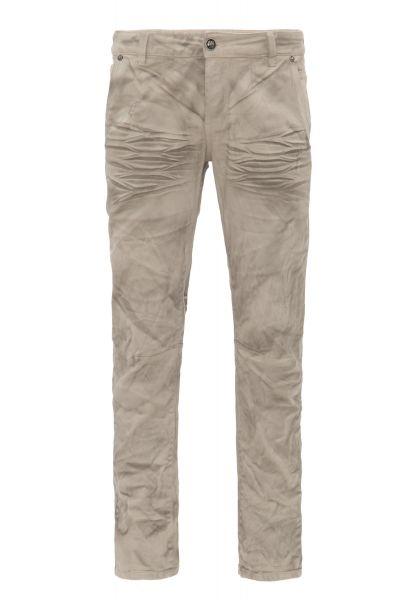 BLUE MONKEY Slim Fit Jeans mit Crinkle Effekt Phavell 2048