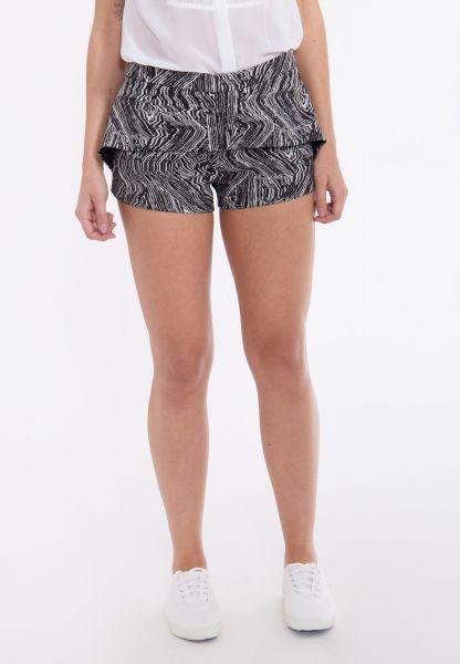 MEXX Hotpants Zebraprint mit Rocküberschlag