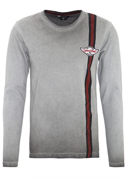 King Kerosin Langarm Shirt »Hot Rod« in Oil-Washed Optik Hot Rod