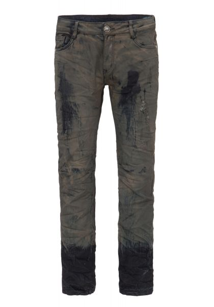 BLUE MONKEY Slim Fit Jeans Special Used Look Allen 2033