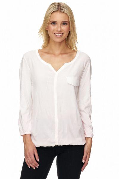 DECAY Shirtbluse mit verzierten Brusttaschen