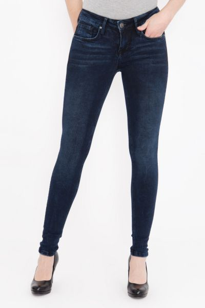 BLUE MONKEY Slim Fit Jeans in cleaner Optik, Slim Fit »Patty« Patty