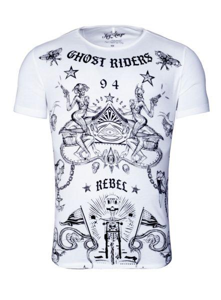 KEY LARGO Herren T-Shirt MT GHOST round
