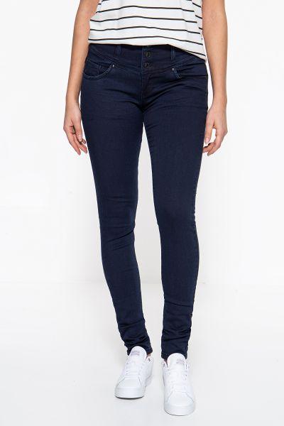 BLUE MONKEY Skinny Fit Jeans »Sike 3989« mit hohem Bund Silke 3989