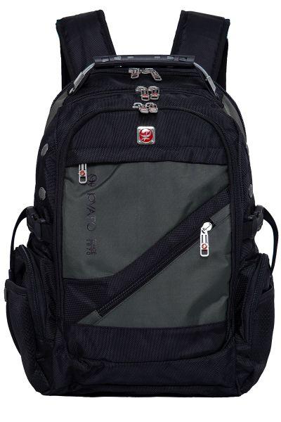PYATO Rucksack mit schräger Fronttasche