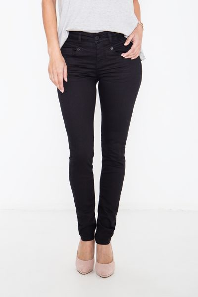 ATT JEANS Basic Slim Fit Jeans mit formgebenden Nähten Zoe
