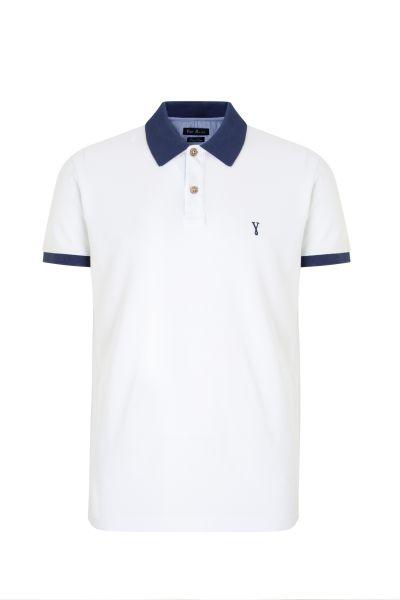 PORT ROYALE Poloshirt mit Konstrastdetails