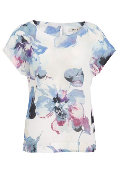 MEXX Shirtbluse mit floralem Alloverdruck