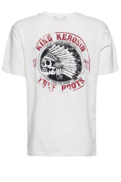 T-Shirt mit Backprint »True Roots«