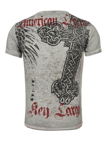 KEY LARGO Herren T-Shirt MT LEGEND round